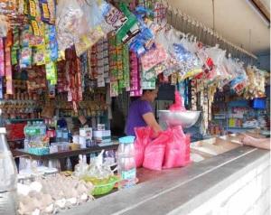 Typical sari sari store