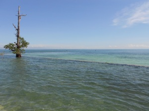 The back side of Samal